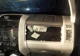 El miércoles último, en la ruta a El Salvador, se decomisaron US$42 mil 500.