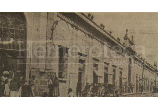 Una vista del antiguo Mercado Central, en la parte que daba a la novena avenida. (Foto: Hemeroteca PL)