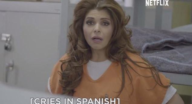Itati Cantoral participa en un video promocional de serie de Netflix y recuerda algunas frases de su icónico personaje de la década de 1990.