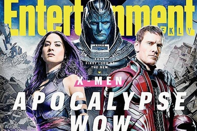 "Portada de ""Entertainment Weekly"" donde aparece Apocalipsis, personaje de ""X-Men"" interpretado por el actor Óscar Isaac."