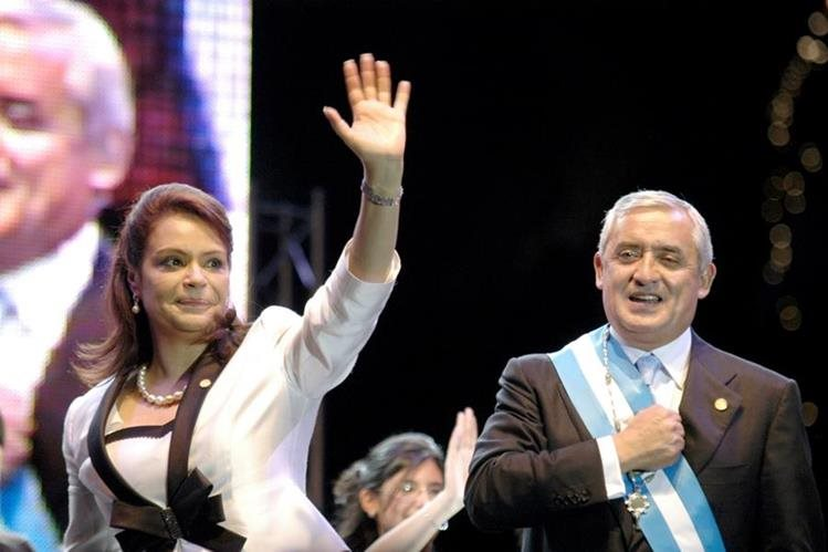 El 23 de abril del 2015 fue la última vez que el presidente y la vicepresidenta figuraron juntos en público. (Foto Prensa Libre: Hemeroteca PL)