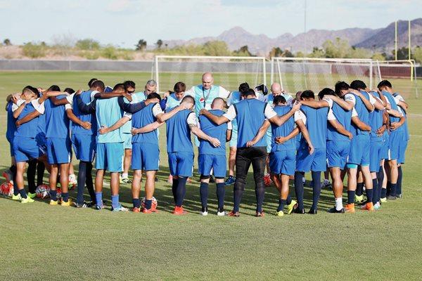La Selección Nacional espera conseguir un triunfo ante México. (Foto Prensa Libre: ACD)