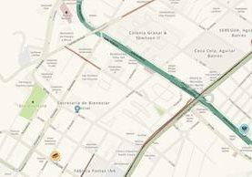 Los donativos pueden entregarse en la 32 calle 9-34 zona 11, colonia Las Charcas, en la sede de la SBS. (Foto Prensa Libre: Waze)