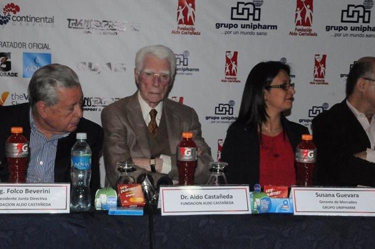 Los organizadores de la carrera dieron a conocer detalles. (Foto Prensa Libre: Jeniffer Gómez)