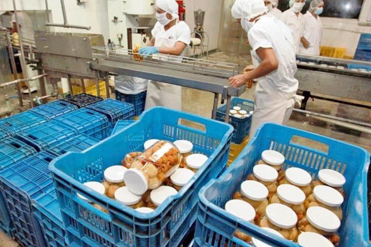 LOS Alimentos en conserva han aumentado sus exportaciones a Estados Unidos.