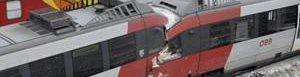 Choque de trenes en Austria.