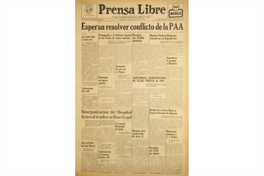 Portada de julio de 1952, con nota sobre patronato del San Juan de Dios. (Foto: Hemeroteca PL)