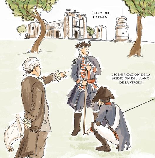 Se tomaron en cuenta ciertas disposiciones para elegir el valle adecuado para el traslado de la capital, en 1776. (Ilustración Prensa Libre: Kevin Ramírez)