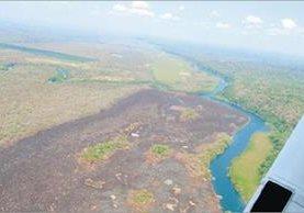 El cambio del uso del suelo para siembras y ganadería es uno de los problemas. (Foto Prensa Libre: Hemeroteca PL)