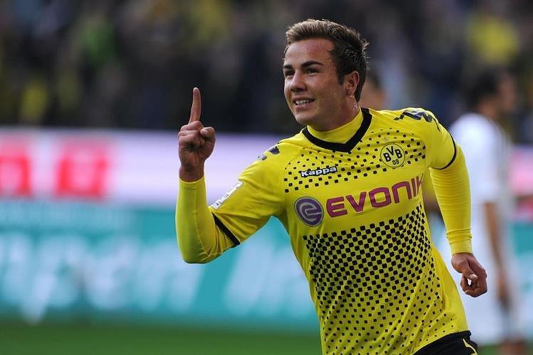 El atacante internacional alemán Mario G tze deja el Bayern Múnich, donde jamás se impuso como titular, para volver al Borussia Dortmund. (Foto Prensa Libre: AFP)