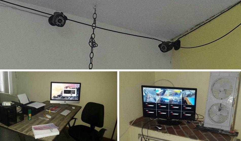 La menor permanecía en una habitación vigilada a través de un sistema de cámaras controladas de forma remota. (Foto Prensa Libre: MP)