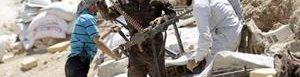Fuerzas kurdas en Siria.