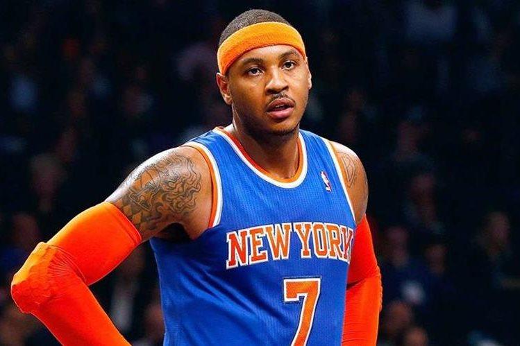 Carmelo Anthony es figura de los Knicks. (Foto Prensa Libre: Hemeroteca PL)