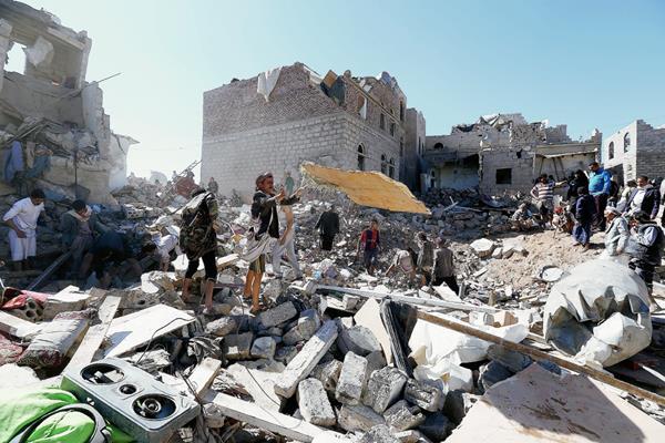 Organización acusa a Arabia Saudí de utilizar munición prohibida de EE. UU. contra civiles.