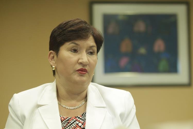 Thelma Aldana expresó que la renuncia de Pérez Molina agilizaría el proceso penal en su contra. (Foto Prensa Libre: Hemeroteca PL)