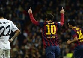 Messi no le anota al Real Madrid desde el 23 de marzo del 2014 cuando marcó un triplete en el Santiago Bernabéu. (Foto Prensa Libre: Hemeroteca)