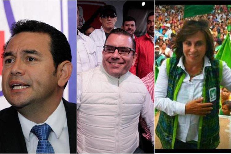 De acuerdo a la Encuesta Libre los partidos FCN, Líder y UNE encabezan la intención de voto. (Foto Prensa Libre)