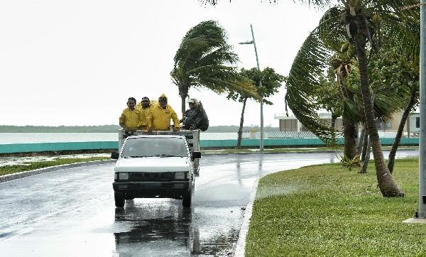 El sur del estado mexicano de Campeche está en alerta máxima por la tormenta Earl.(EFE).