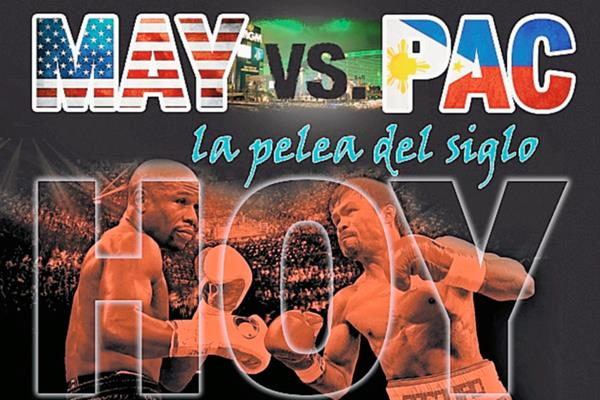 Mayweather Y Pacquiao, la pelea más esperada. (Foto arte Prensa Libre: Hemeroteca PL)