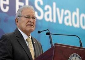 Salvador Sánchez Cerén, presidente de El Salvador.