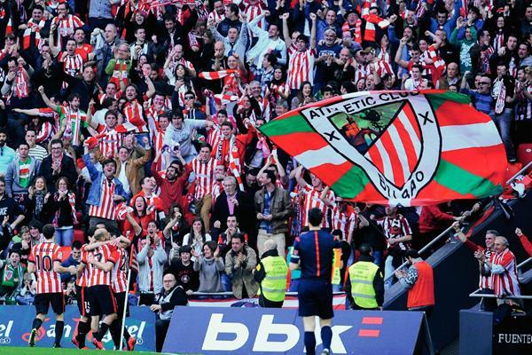 El Bilbao jugó un partido extraordinario y opacó en todo sentido al Real Madrid. (Foto Prensa Libre:AP)