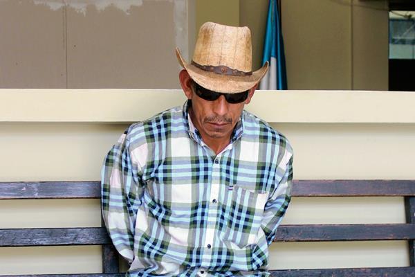 Tomás González  Jiménez, de 41 años, fue condenado a 15 años de prisión por haber violado a su hija. (Foto Prensa Libre: Hugo Oliva)