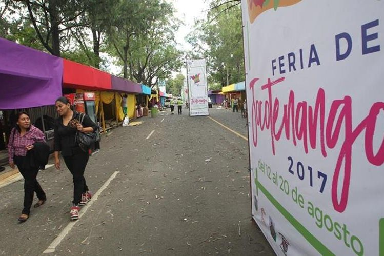 Este sábado 12 de agosto comienza la Feria de Jocotenango en la Ciudad de Guatemala (Foto Prensa Libre: Erick Ávila)