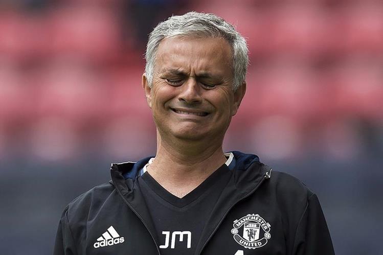 Mourinho tampoco ha tenido el éxito esperado en el Manchester United. (Foto Prensa Libre: Hemeroteca)