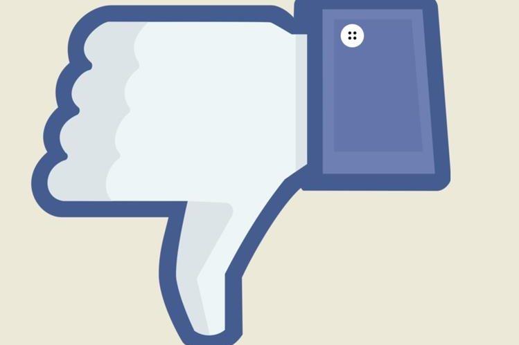 """Botón de """"No me gusta"""" estaría siendo experimentado por la red social Facebook. (Foto HemerotecaPL)"""