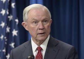 Sessions pidió que la audiencia en el Congreso fuera pública. (Foto Prensa Libre: AP)