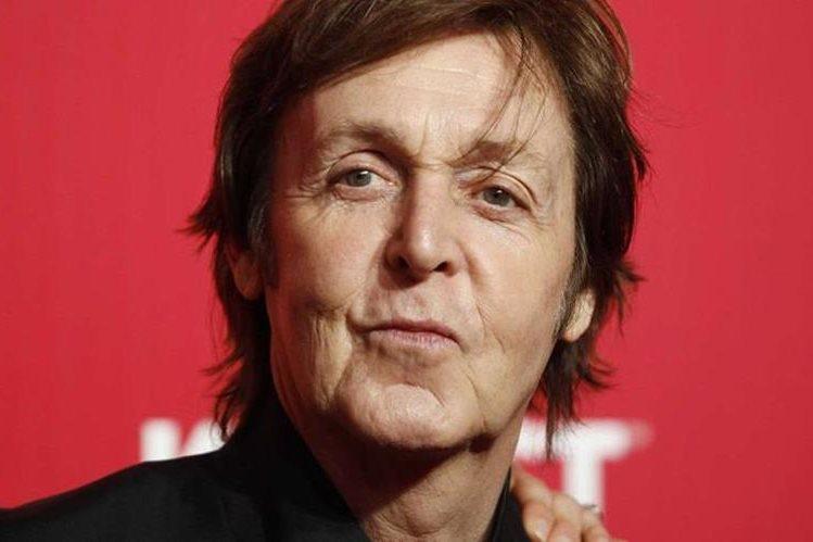 Paul McCartney estará en la pantalla grande. (Foto Prensa Libre: Hemeroteca PL)