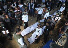 Las muertes de reclusos se dan generalmente en enfrentamientos entre grupos rivales. (Foto Prensa Libre: Hemeroteca PL)