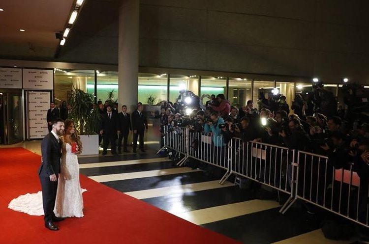 La boda de Messi y Antonella se llevo a cabo en el casino hotel City Center.