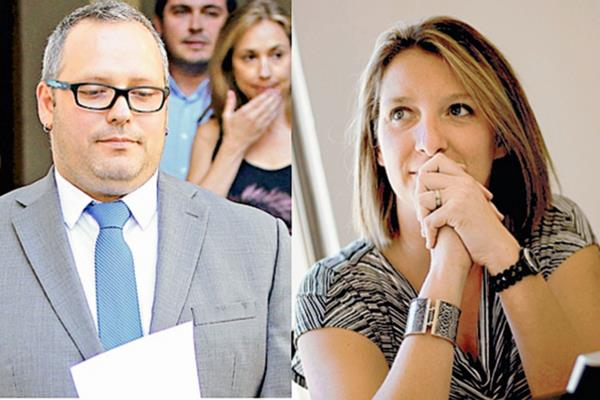 Sebastián Dávalos  y su esposa Natalia Compagnon están implicados en la  compra venta de un terreno que costó US$10 millones. (Foto Prensa Libre: Tomada de internet)