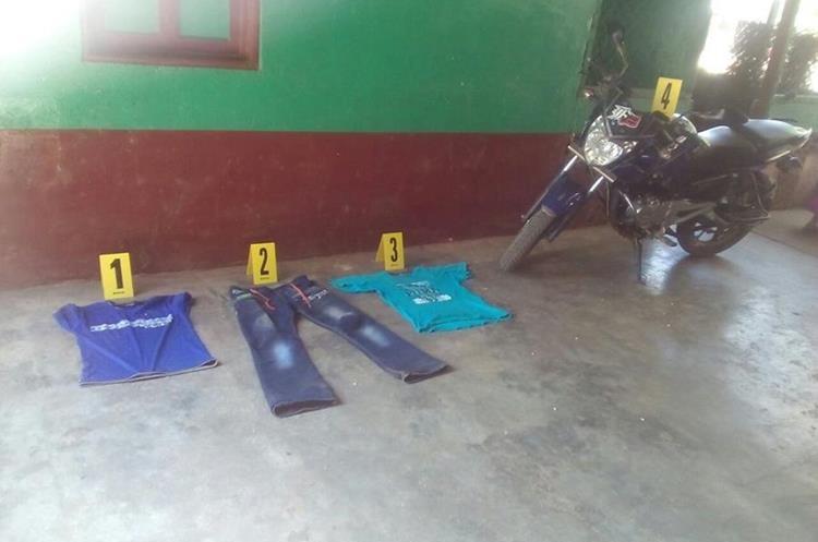 En un allanamiento se localizó evidencia que involucra al primo de la menor. (Foto Prensa Libre: Cortesía PNC)