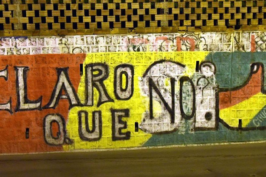 """El """"No"""" se perfila como opción más votada en el referendo de Bolivia. (Foto Prensa Libre: AFP)."""