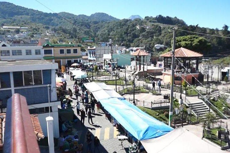 Magdalena Milpas Altas tiene una extensión de ocho kilómetros cuadrados. Además del casco urbano, está formado por dos aldeas: Buena Vista y San Miguel Milpas Altas. Se ubica a solo 12 kilómetros de la cabecera de Sacatepéquez. (Foto Prensa Libre: Luis Velásquez)