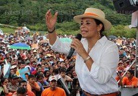 Un grupo de Zetas prestó seguridad a Roxana Baldetti durante la campaña política. (Foto Prensa Libre: Hemeroteca PL)