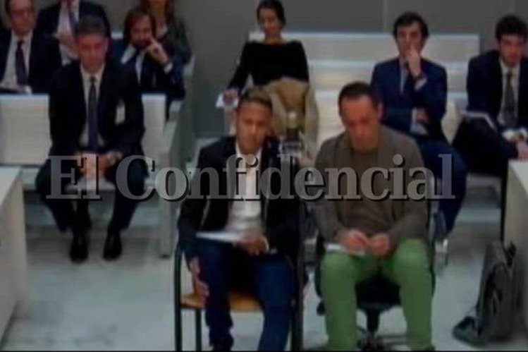 El Confidencial de España dio a conocer los videos de la declaración de Neymar ante el juez por el caso de defraudación fiscal. (Foto Prensa Libre: El Confidencial)