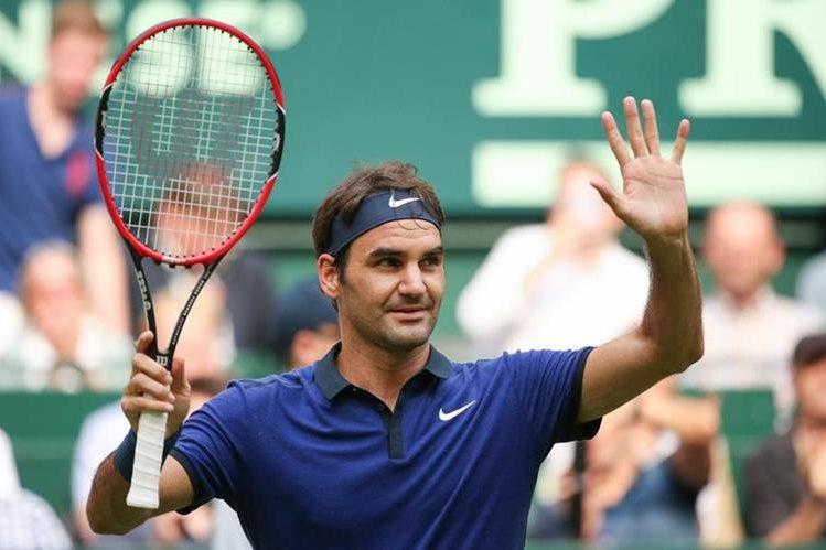 Federer inició con buen pie su camino en Halle. (Foto Prensa Libre: Hemeroteca)