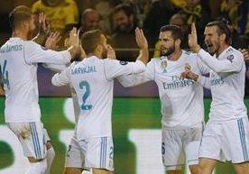 El Borussia recibió la visita del Real Madrid.
