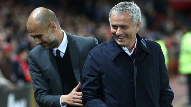 No todo ha sido negativo en una temporada en la que suma una victoria y una derrota contra el Manchester City de Pep Guardiola. (Foto Prensa Libre: Getty Images)