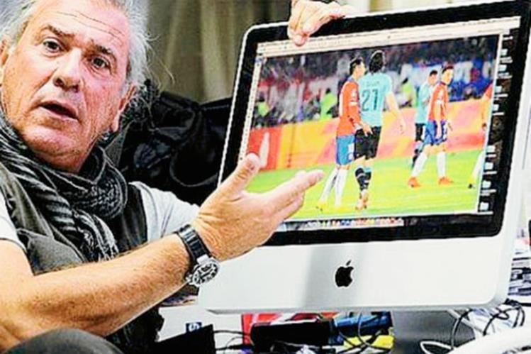 El fotógrafo aclaró en una radio chilena que ningún medio le pidió permiso para publicar la fotografía. (Foto Prensa Libre: COOPERATIVA.CL)