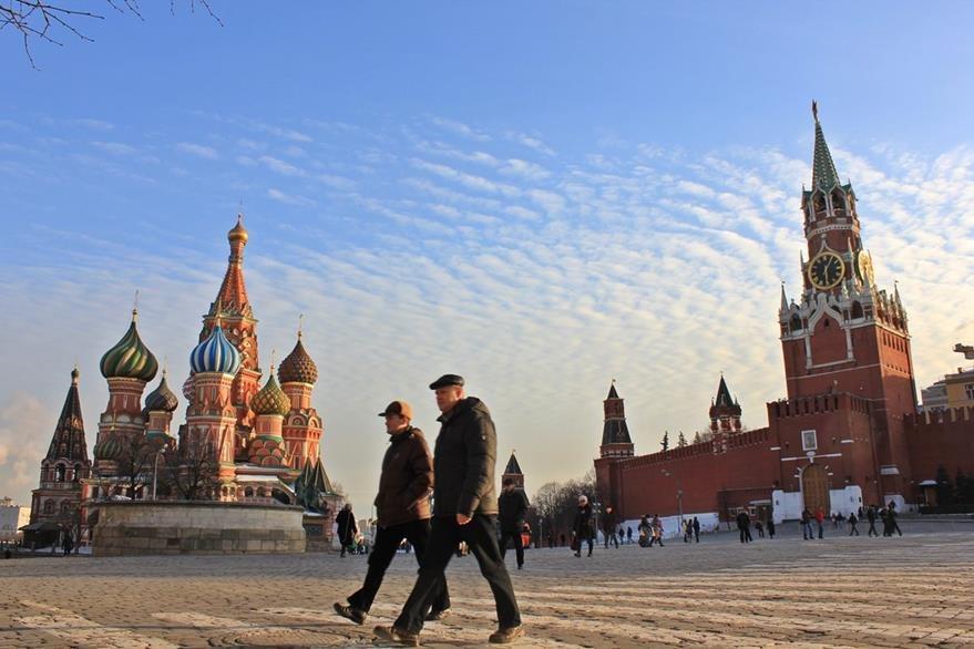 Plaza Roja de Moscú, la capital de Rusia. (Foto: elpaís.com)
