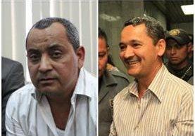 Elio y Waldemar Lorenzana fueron hallados culpables de narcotráfico en un tribunal de EE. UU. (Foto Prensa Libre: Hemeroteca PL)