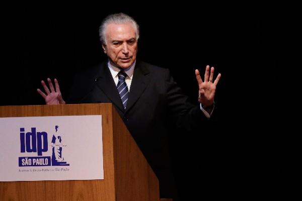 Michel Temer, aliado que puede empujar a Dilma Rousseff al abismo.