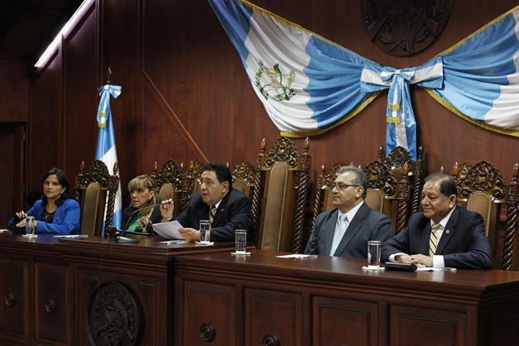 Pleno de magistrados de la Corte de Constitucionalidad decidió dejar exentos de pena de muerte varios delitos. (Foto Prensa Libre: Hemeroteca PL)