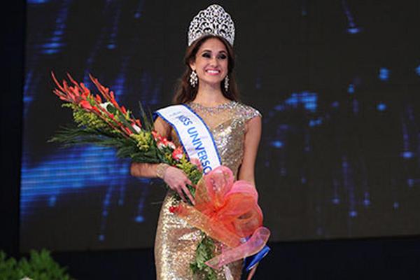 <p>Ana Luisa Montúfar Urrutia fue coronada como Miss Guatemala Universo 2014. (Foto Prensa Libre: Keneth Cruz)</p>