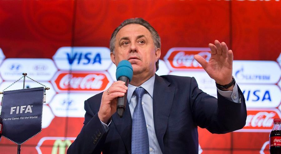 El jefe del comité organizador del Mundial de Rusia 2018, Vitaly Mutko, tendrá que dejar su cargo en Fifa luego de ser ascendido a viceprimer ministro del país. (Foto Prensa Libre: Hemeroteca)
