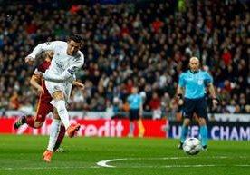 El Real Madrid venció a la Roma y clasifió a cuartos de final.